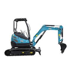 Boom side shift fuction and Track retraction digger mini graden crawler mini backhoe excavator