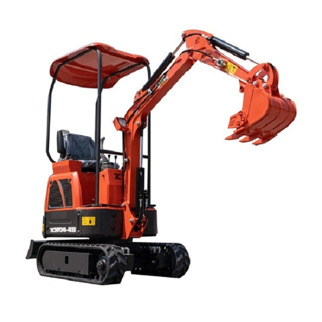 New Low price china mini towable high efficiency backhoe excavator loader