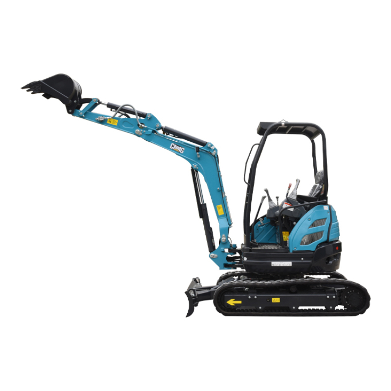 With a new Japanese imported engine long boom pile driver loader excavator