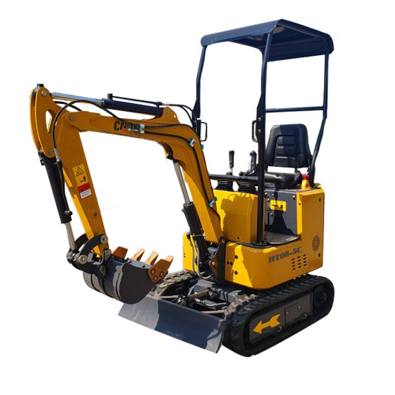 cheap price 1 ton CE certificate mini excavator for sale