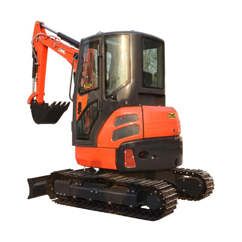 Hot sale excellent performance 3.5 ton digger mini crawler excavator price