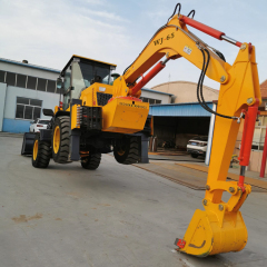 Chinese Factory Direct Marketing the cheap 945 - 65 tractor loader digger towable backhoe for sale