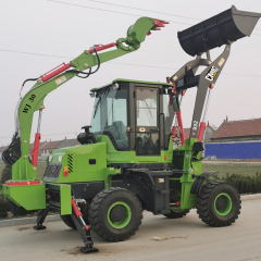 Chinese cheap price earth moving machine excavator backhoe loader for sale