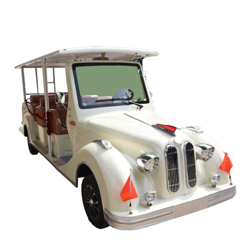 11 seats best price 30km/h classic eletric car for hotel