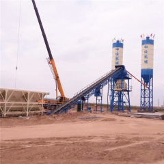 Hot sale china factory supply HZS60 Concrete Batching Plant with cheap price
