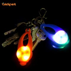 Pet Accessories Clip on Pendant Waterproof Led Dog Pendant Light Safety Silicone Pet Pendant  Tag