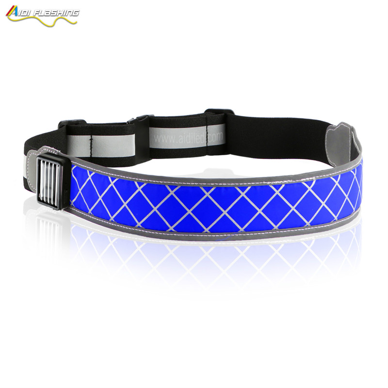 lightweight Runners Joggers Walkers Pet Owners Cyclists USB charger fanny pack light LED run