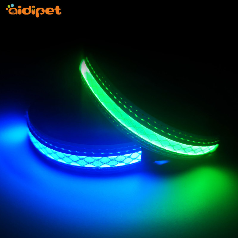 Puppy Collars for Small Dogs Led Dog Safety Collar USB Rechargeable Light XS XXS Suits for Small Dog Collar