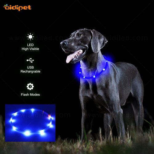 Collar Led Dog 2021 new model High Quality Pet Collar Pendant Anti Lost pet collar