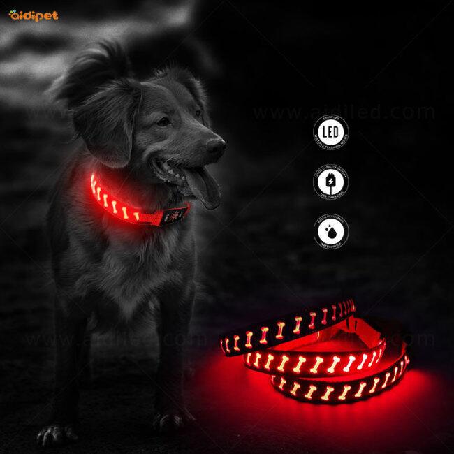 Flashing Light Pet Collar Adjustable Led Dog Collar Fast dispatcPet Collar