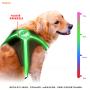 aidiflashing hot sale  new model led dog harness pet dog harness led