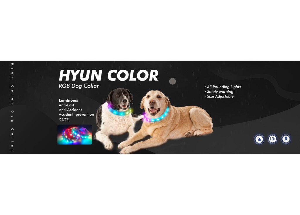 LED AIDI C6 RGBDog Collar
