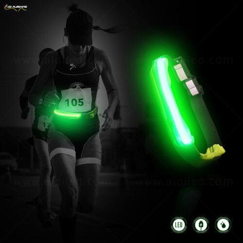 Waist Bag Outdoor Climbing Running Belt Waist Bag Large led night bag running
