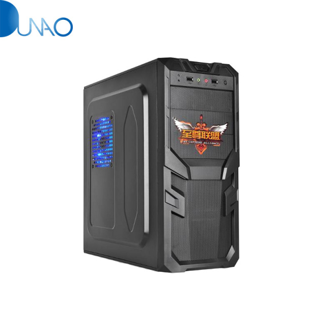 Supreme Alliancezlo1 Armor Shape Panel Desktop Computer Chassis