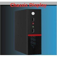 New design slim ITX MINI desktop computer chassis with three colors choosing