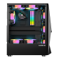 ATX/M-ATX computer gaming casing GLASS RGB fan gaming computer case