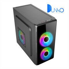 1603 new model glass panel mini ATX desktop case