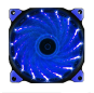 Chassis fan 12cm light fan 15 light streamer fan glare LED chassis cooling fan