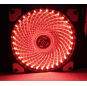 33 lights 12CM chassis fan light guide LED with light light ultra-quiet chassis cooling air volume