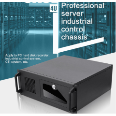 Professional server industrial control chassis for industrial control systems, CTI systems, etc.