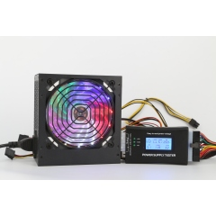 New full range auto voltage 80+ white card active transformer ATX high quality computer power supply