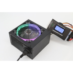 New single voltage 80+ white card active transformer ATX high quality computer power supply