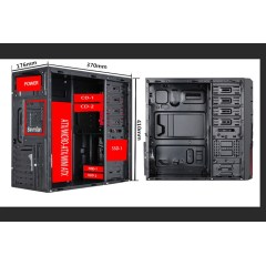 New tower red color  popular ATX Gaming case in 2019