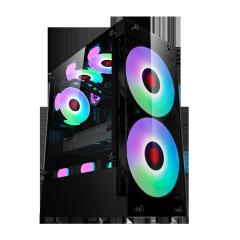 Moon big fan case desktop gaming atx case 180mm fan