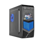 V5 Blue New Design Tower ATX Computer Gaming Case