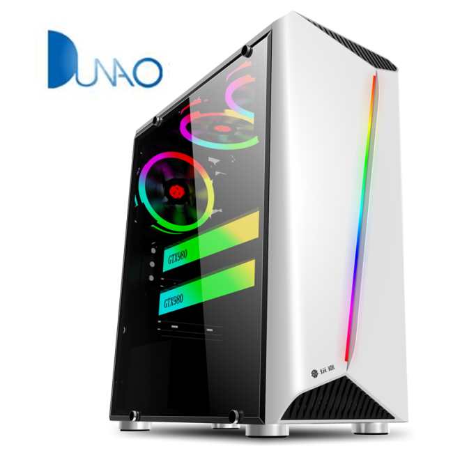 2019 new glass game chassis white color factory price C003