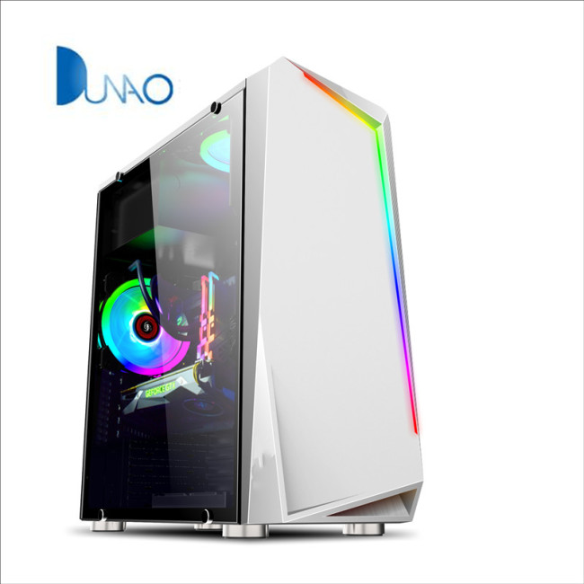 2019 new white glass game chassis factory price C005