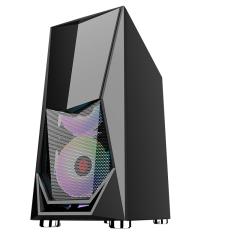 ATX/M-ATX computer gaming casing GLASS RGB fan gaming computer case