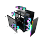 star sky new design gaming case with led light gaming chassic