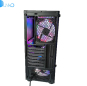 Tempered glass rgb fan gaming computer game factory
