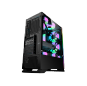 High Quality Tempered Glass Panel Gaming Chasis Computer pc Cabinet Case for desktop