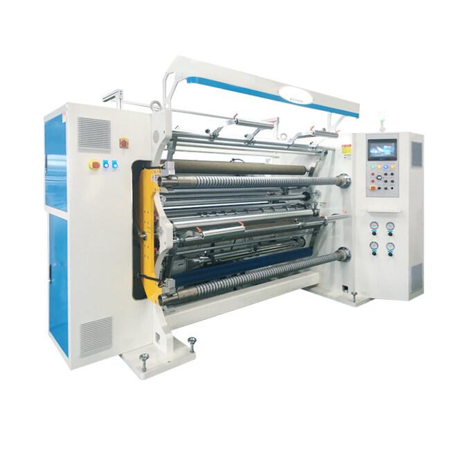HN1600 Slitter Rewinder for Thermal Film,BOPP,LDPE,PET,OPP,CPP,Foil,Lamination film