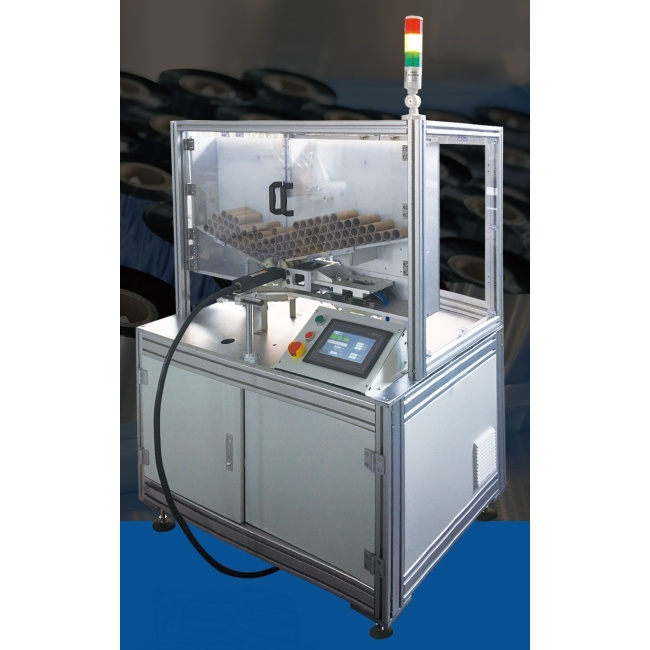 TTR Paper Plastic Core Tracking Code Printing Machine