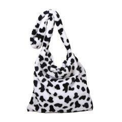 Elegant Design Cow Pattern Women Tote Handbags Casual Large Capacity Ladies Shoulder Bag Simple Fashion Female Messenger Bags