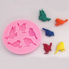 Chocolate Pigeon Birds Mould Candy Soap Molds Clay Molds Cake Mold Pastry Making Baking Tools Kitchen Accessories Home Decor