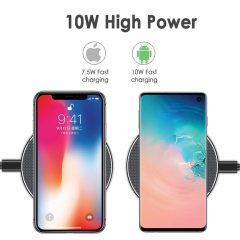 10W Fast Wireless Charger For Samsung Galaxy S10 S9 S8 Note 9 USB Qi Charging Pad for iPhone 11 Pro XS Max XR X 8 Plus 12