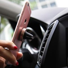 Magnetic Phone Holder for Mobile Phone on Car For iPhone 11 Pro Max Magnet Car Phone Holder Mini GPS Navigation Phone Stand