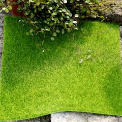 5pcs/set Artificial Grass Lawn Miniature Ornament Garden Grass ome Garden Moss for Home Floor Decoration 15*15cm