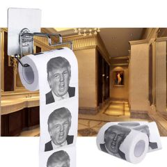 New 1Pcs Funny Weird Printed Toilet Tissue High Quality Wood Pulp Toilet Paper Roll Family Bath Supplies Home Decoration