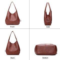 SMOOZA Vintage Womens Hand bags Designers Luxury Handbags Women Shoulder Bags Female Top-handle Bags Fashion Brand Handbags