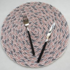 PVC Cotton Yarn Lace Drink Coasters Dining Table Dish Cup Mat Placemat Bowl Tea Party Kitchen Accessories Decoration Home Decor