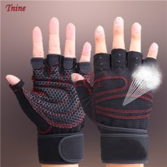 Weightlifting Men/Women Half Finger Gloves Gym Workout Training Bodybuilding Gloves Dumbbell Fitness Half Finger Hand Protector