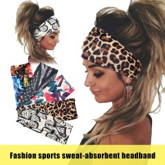Tie Dye Cycling Yoga Sport Sweat Headband Women Sweatband For Men Women Yoga Hair Bands Head Sweat Bands Sports Safety