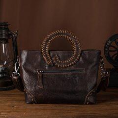 Genuine Leather Famous Brand Emboss Luxury Ladies Designer handbag Over The Shoulder bag Women Female ol elegant Tote bag 258