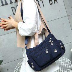 New Casual Crossbody Shoulder Bag Women Bag Nylon Waterproof Messenger Bags For Lady Handbags High Quality Multifunctional