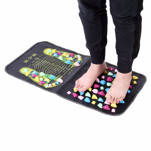 Foot Massager Mat Reflexology Walk Relax Massager Stone Pain Relieve Leg Mat Care Pad Muscle Stimulation Pad